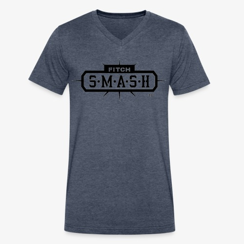 Fitch SMASH LLC. Official Trade Mark 2 - Men's V-Neck T-Shirt by Canvas
