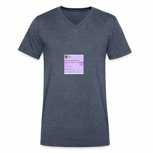 Idc anymore - Men's V-Neck T-Shirt by Canvas
