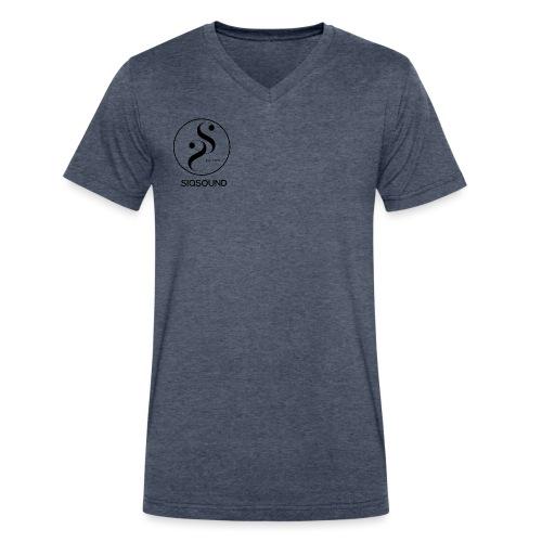 Siqsound Market - Men's V-Neck T-Shirt by Canvas