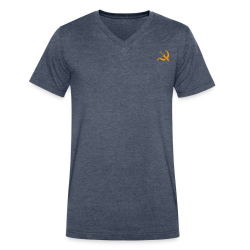 USSR logo - Men's V-Neck T-Shirt by Canvas