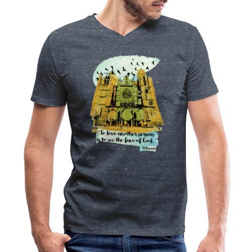 El camino - Men's V-Neck T-Shirt by Canvas