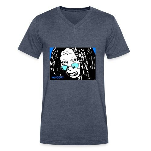 WHOOPI - Men's V-Neck T-Shirt by Canvas