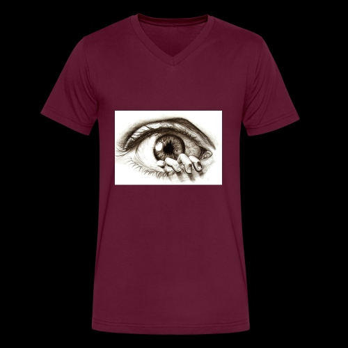 eye breaker - Men's V-Neck T-Shirt by Canvas