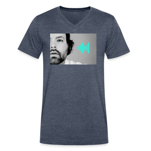t shirt - Men's V-Neck T-Shirt by Canvas
