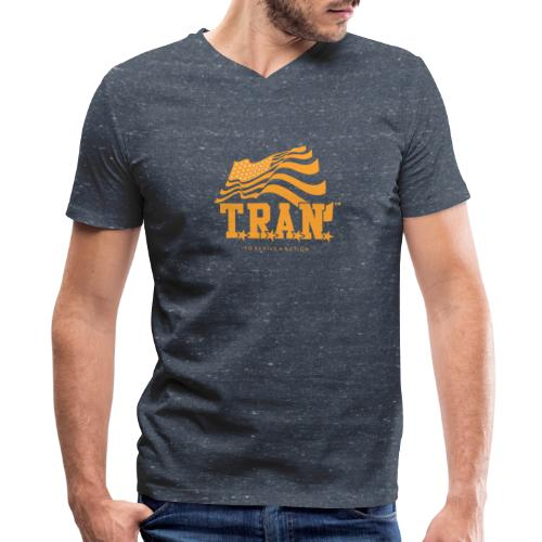 TRAN Gold Club - Men's V-Neck T-Shirt by Canvas
