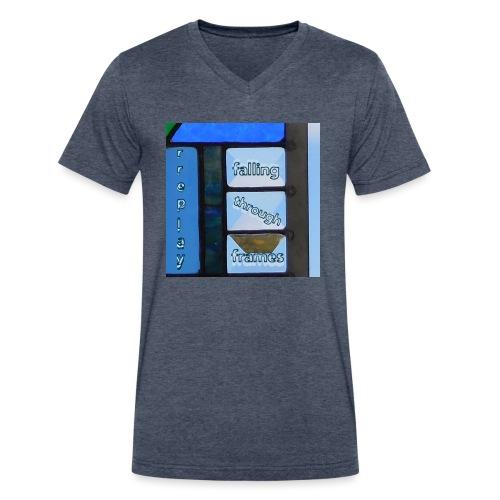 Falling Through Frames - rreplay - Men's V-Neck T-Shirt by Canvas
