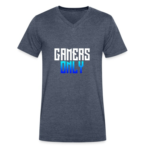 Gamers only - Men's V-Neck T-Shirt by Canvas