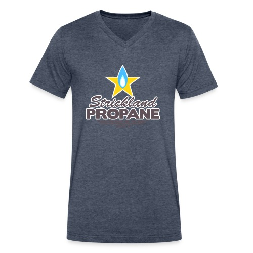 Strickland Propane Mens American Apparel Tee - Men's V-Neck T-Shirt by Canvas