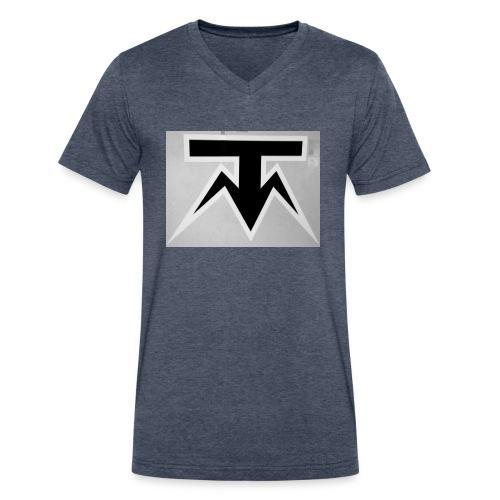 TMoney - Men's V-Neck T-Shirt by Canvas