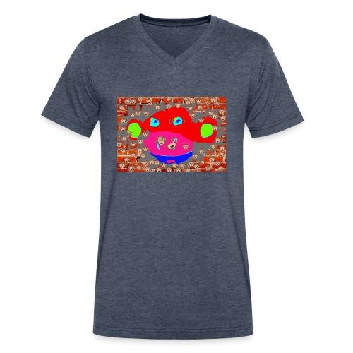 monkey by brax - Men's V-Neck T-Shirt by Canvas
