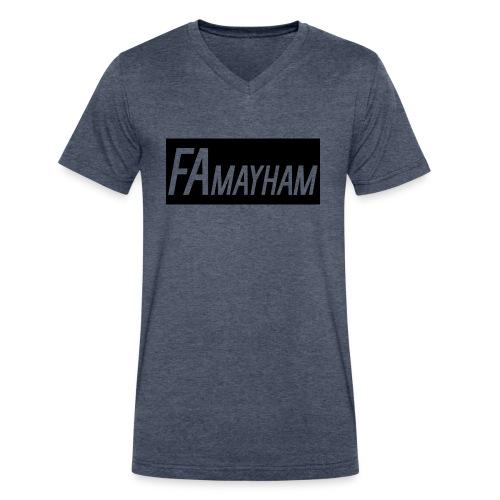 FAmayham - Men's V-Neck T-Shirt by Canvas