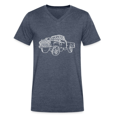 gnarlyTruck - Men's V-Neck T-Shirt by Canvas
