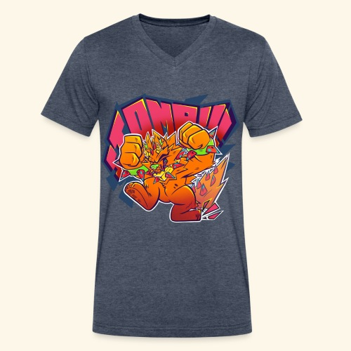 - Stomp Stomp Stomp - - Men's V-Neck T-Shirt by Canvas