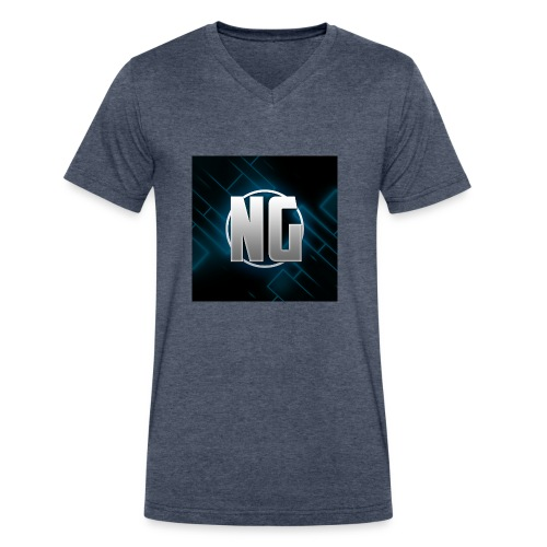 NadhirGamer Merch - Men's V-Neck T-Shirt by Canvas