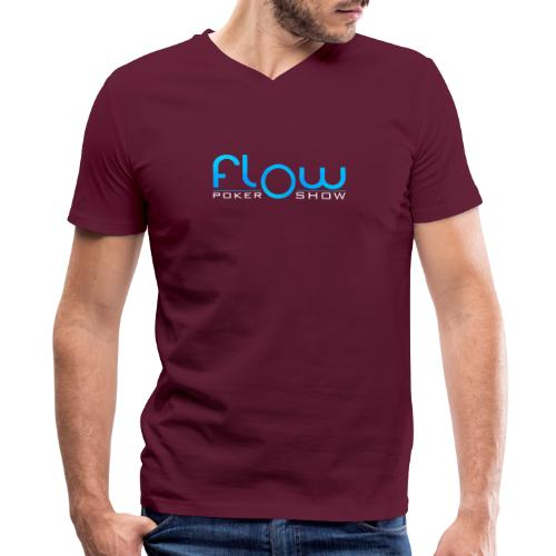 Poker Flow Show Merch - Men's V-Neck T-Shirt by Canvas
