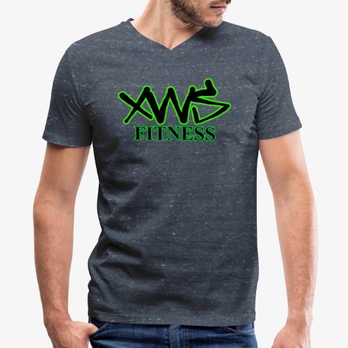 XWS Fitness - Men's V-Neck T-Shirt by Canvas