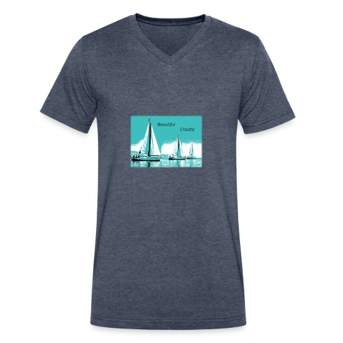 Beautiful Croatia - Men's V-Neck T-Shirt by Canvas