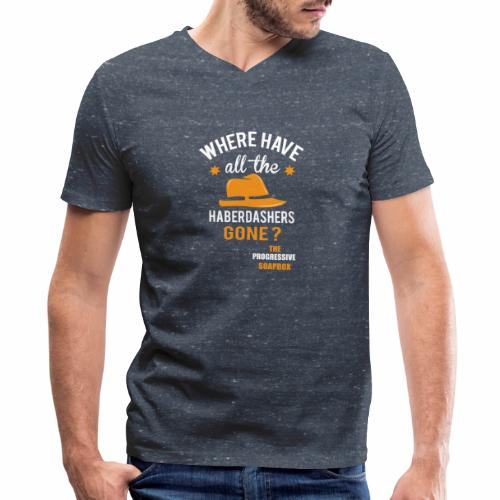 Haberdashers - Men's V-Neck T-Shirt by Canvas