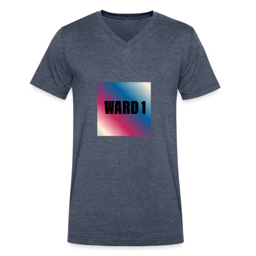 Ward 1 Offical Shirt - Men's V-Neck T-Shirt by Canvas