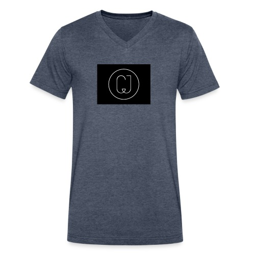 CJ - Men's V-Neck T-Shirt by Canvas