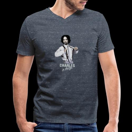 CHARLEY IN CHARGE - Men's V-Neck T-Shirt by Canvas