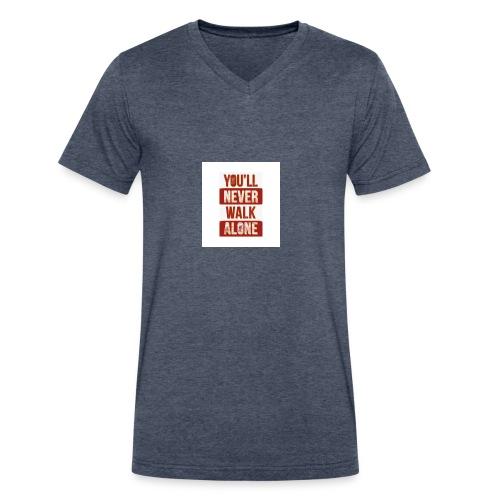 liverpool fc ynwa - Men's V-Neck T-Shirt by Canvas
