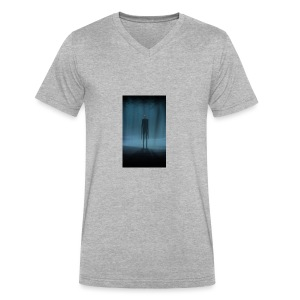 Creepy Forest Person - Men's V-Neck T-Shirt by Canvas