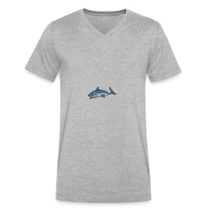 IMG 4124 - Men's V-Neck T-Shirt by Canvas