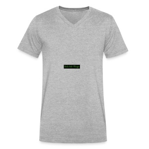 coollogo_com-4632896 - Men's V-Neck T-Shirt by Canvas