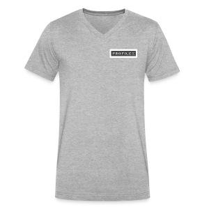 logo white background - Men's V-Neck T-Shirt by Canvas