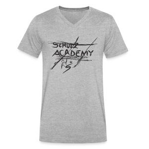 # Schulz Academy - Men's V-Neck T-Shirt by Canvas