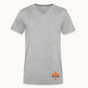 CANADA - Carolyn Sandstrom - Men's V-Neck T-Shirt by Canvas