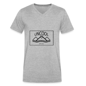 uncool_bw - Men's V-Neck T-Shirt by Canvas