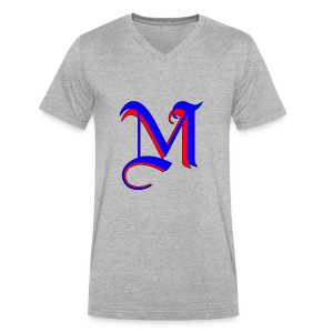 madMusic_Records - Men's V-Neck T-Shirt by Canvas