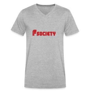 Fsocieaty sega - Men's V-Neck T-Shirt by Canvas
