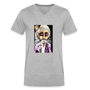 Cool Dude - Men's V-Neck T-Shirt by Canvas