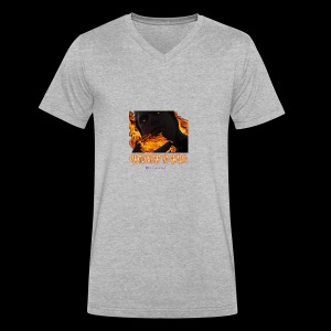 Martinoheat HD Gaming button - Men's V-Neck T-Shirt by Canvas