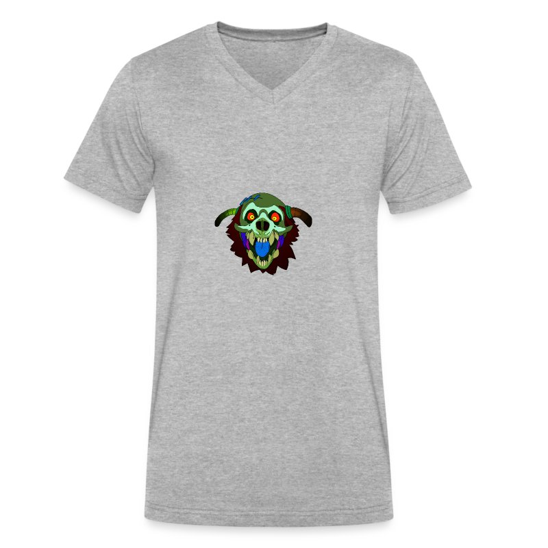 Dr. Mindskull - Men's V-Neck T-Shirt by Canvas