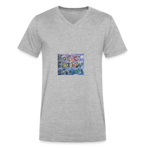 IMG_0226 - Men's V-Neck T-Shirt by Canvas