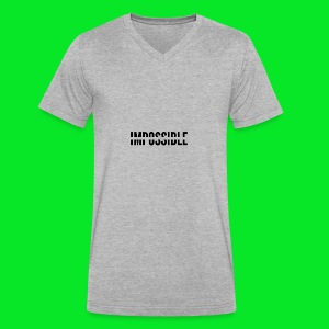 Impossible - Men's V-Neck T-Shirt by Canvas