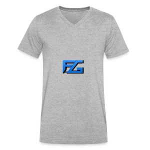 Freeze Gaming Logo - Men's V-Neck T-Shirt by Canvas