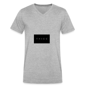 T H I C C T-shirts,hoodies,mugs etc. - Men's V-Neck T-Shirt by Canvas