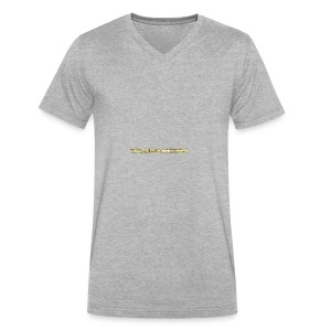 TROLLIEUNICORN gold text limited edition - Men's V-Neck T-Shirt by Canvas