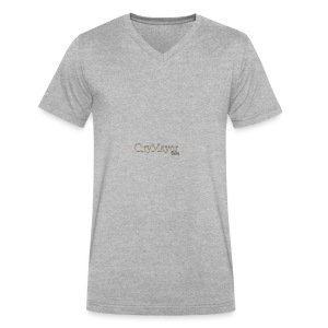 CityMayor Games Logo (Merchandise) - Men's V-Neck T-Shirt by Canvas