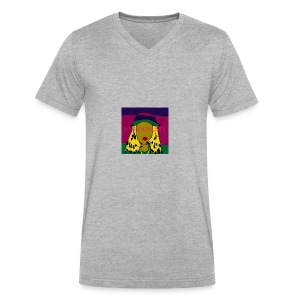 Laid Back Shawty - Men's V-Neck T-Shirt by Canvas