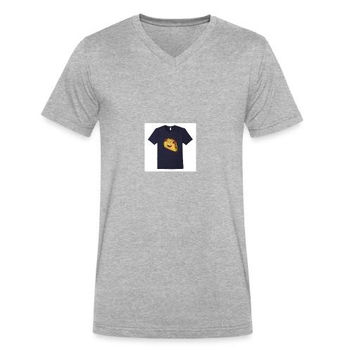 evil taco merch - Men's V-Neck T-Shirt by Canvas