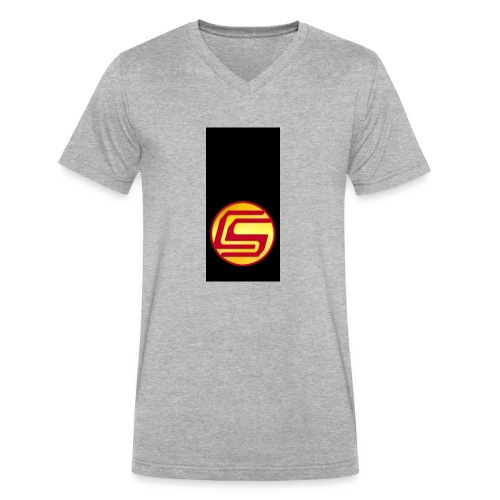 siphone5 - Men's V-Neck T-Shirt by Canvas