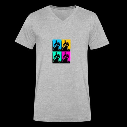 LGBT Support - Men's V-Neck T-Shirt by Canvas