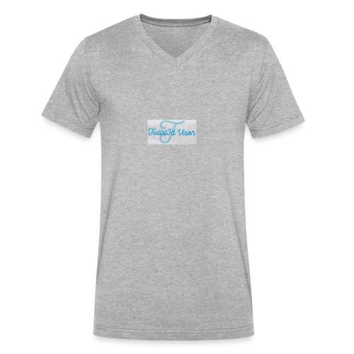 TwiiSt3D - Men's V-Neck T-Shirt by Canvas