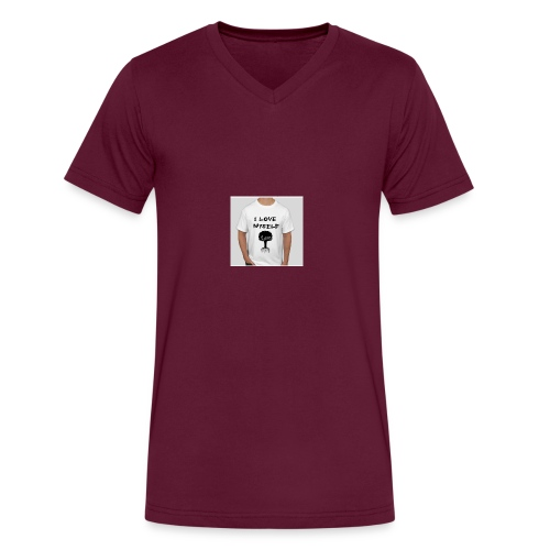 love myself - Men's V-Neck T-Shirt by Canvas